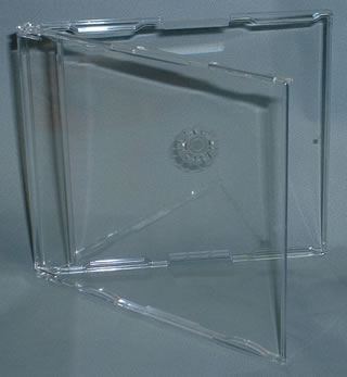 Click here to view slimline CD single cases