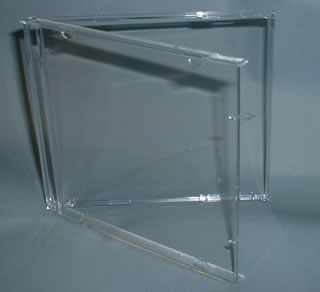 Click here to view CD album cases (without trays)