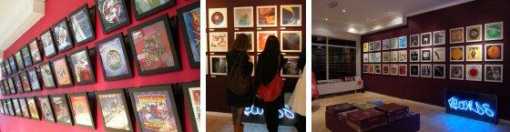 Art Vinyl display showcase