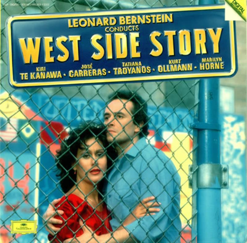 West-Side-Story-Leonard-Bernstein-2-LP-vinyl-record-Double-Album-German
