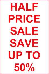 *** August Sale Now On - Save up to 50% off ***