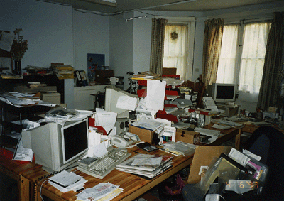 Our offices in 1993