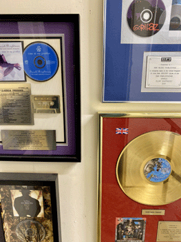 Some awards on our walls