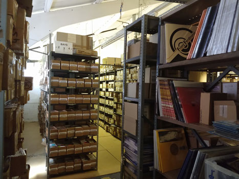 Some of our warehouse