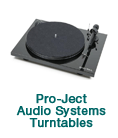 Pro-Ject Audio Systems Turntables