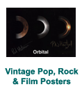 Vintage Pop, Rock & Film Posters