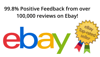 We are a top seller on Ebay